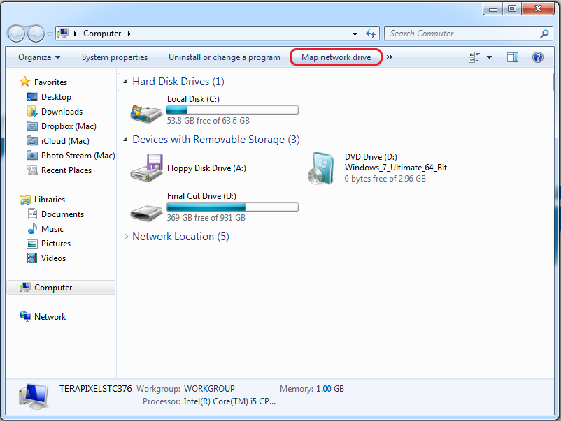 WebDAV for Windows Vista and Windows 7 Users – Knowledge Base